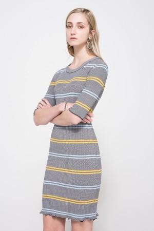 Farrow striped dress