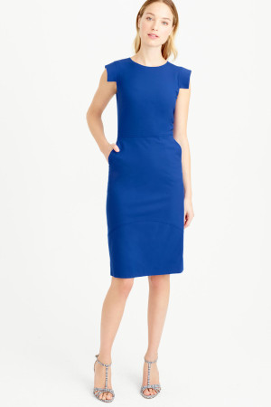 Sheath Wool Dress