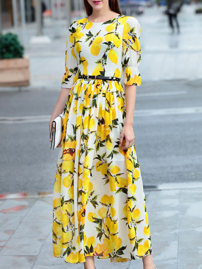 Lovely Lemon Maxi