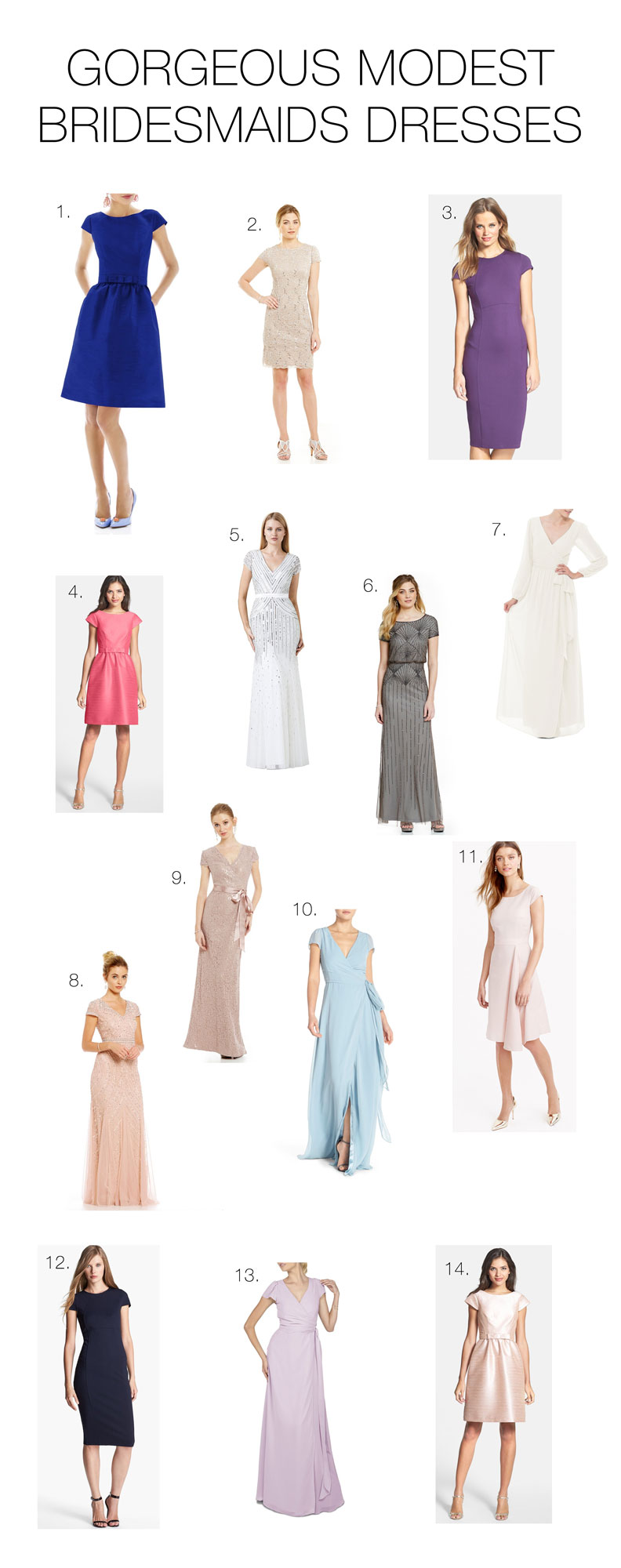 Gorgeous-Modest-Bridesmaids-Dresses