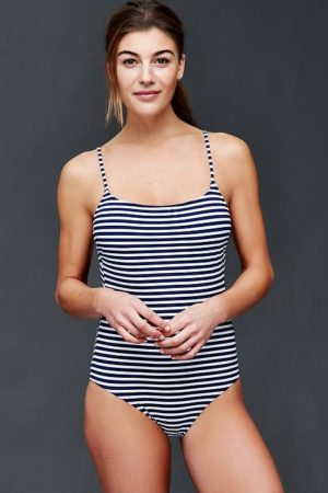 Striped_low_back_onepiece
