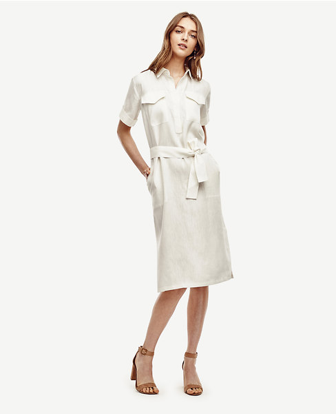 linen_blend_shirtdress